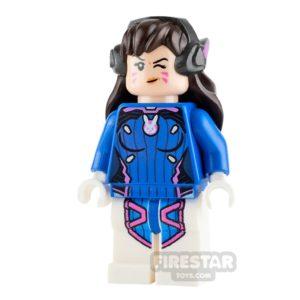 Product shot LEGO Overwatch Minifigure D.Va