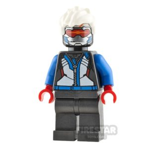 Product shot LEGO Overwatch Minifigure Soldier 76