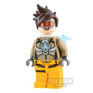 Product shot LEGO Overwatch Minifigure Tracer