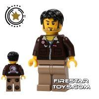 Product shot LEGO Pharaoh's Quest Mini Figure - Jake Raines