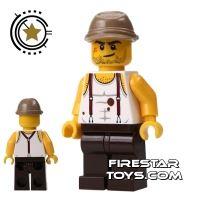 Product shot LEGO Pharaoh's Quest Mini Figure - Mac McCloud - Kepi