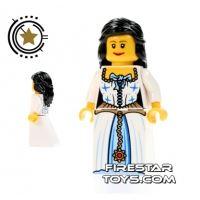 Product shot LEGO Pirate Mini Figure - Admirals Daughter
