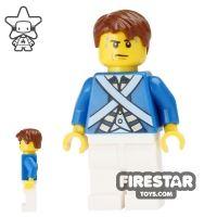 Product shot LEGO Pirate Mini Figure - Bluecoat Soldier 5
