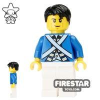 Product shot LEGO Pirate Mini Figure - Bluecoat Soldier 6