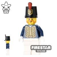 Product shot LEGO Pirate Mini Figure - Chess King