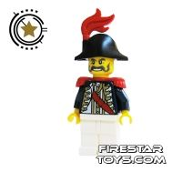 Product shot LEGO Pirate Mini Figure - Imperial Soldier II - Governor