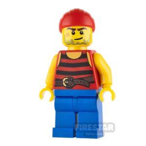 Product shot LEGO Pirate Mini Figure - Pirate 3