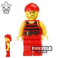 Product shot LEGO Pirate Mini Figure - Pirate 5