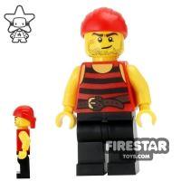 Product shot LEGO Pirate Mini Figure - Pirate 6