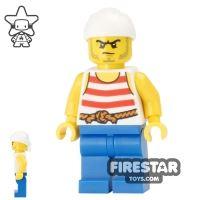 Product shot LEGO Pirate Mini Figure - Pirate 9