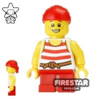 Product shot LEGO Pirate Mini Figure - Pirate Boy