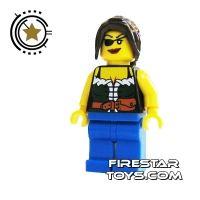 Product shot LEGO Pirate Mini Figure - Pirate Female