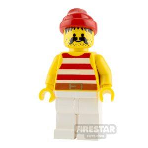 Product shot LEGO Pirate Minifigure Pirate Striped Shirt