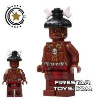 Product shot LEGO Pirates Of The Caribbean Mini Figure - Cannibal 1