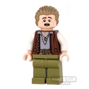 Product shot LEGO Pirates Of The Caribbean Mini Figure - Henry