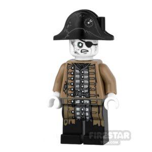 Product shot LEGO Pirates Of The Caribbean Mini Figure - Lieutenant Lesaro