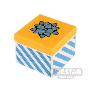 Product shot LEGO - Present Gift with Blue Bow