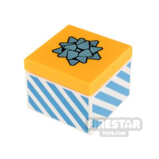 Product shot LEGO Present Gift with Blue Bow