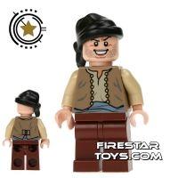 Product shot LEGO Prince Of Persia Mini Figure -  Ostrich Jockey