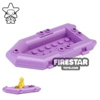 Product shot LEGO - Raft Boat - Medium Lavender
