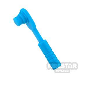 Product shot LEGO - Ratchet / Socket Wrench - Dark Azure