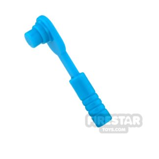 Product shot LEGO - Ratchet / Socket Wrench - Dark Azure
