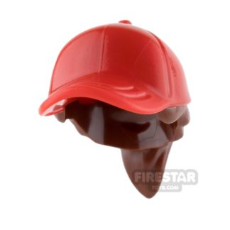 Product shot LEGO Red Cap with Ponytail