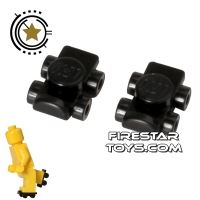 Product shot LEGO - Roller Skates - Black