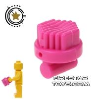 Product shot LEGO - Round Brush - Dark Pink