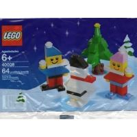 Product shot LEGO Seasonal 40008 - Snowman Building Set