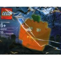 Product shot LEGO Seasonal 40012 - Halloween Pumpkin