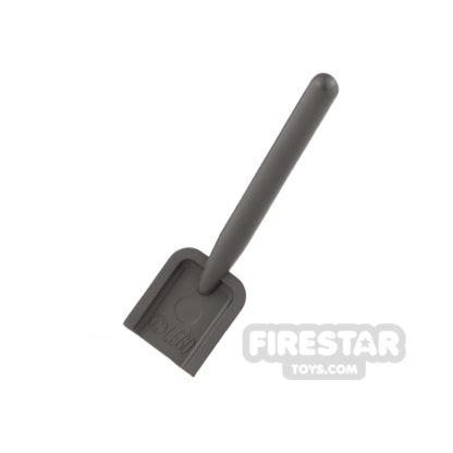 Product shot LEGO - Shovel - Dark Gray