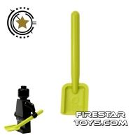 Product shot LEGO - Shovel - Green