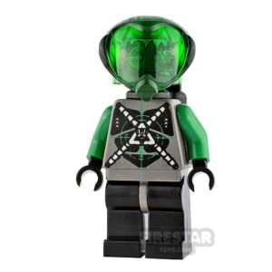 Product shot LEGO Space - Insectoids - Green Verniers