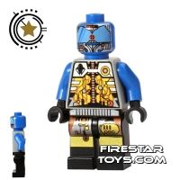 Product shot LEGO Space - UFO Droid - Blue