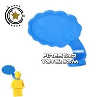 Product shot LEGO Speech Bubble - Cloud Edge - Right - Blue
