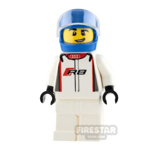 Product shot LEGO Speed Champions Audi R8 Driver
