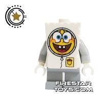 Product shot LEGO Spongebob Mini Figure - Spongebob Astronaut