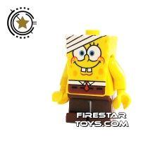 Product shot LEGO Spongebob Mini Figure - Spongebob Bandage