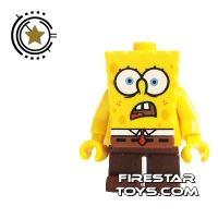 Product shot LEGO Spongebob Mini Figure - Spongebob Shocked
