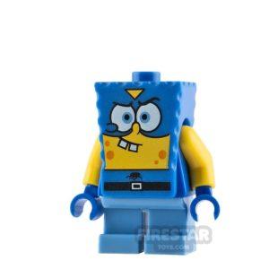 Product shot LEGO Spongebob Mini Figure - Spongebob Superhero