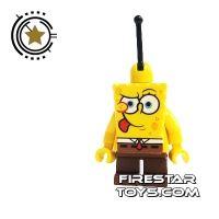 Product shot LEGO Spongebob Mini Figure - Spongebob Tongue Out