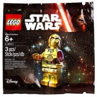 Product shot LEGO Star Wars 5002948 - C-3PO Red Arm