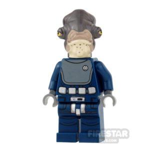 Product shot LEGO Star Wars Mini Figure - Admiral Raddus