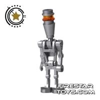 Product shot LEGO Star Wars Mini Figure - Assassin Droid Silver