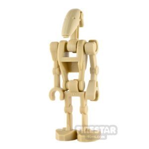 Product shot LEGO Star Wars Mini Figure - Battle Droid - Straight Arm