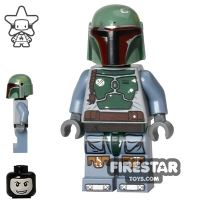 Product shot LEGO Star Wars Mini Figure - Boba Fett - Balaclava Head