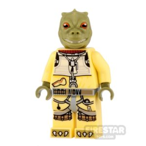 Product shot LEGO Star Wars Mini Figure - Bossk - Olive Green