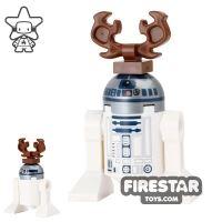 Product shot LEGO Star Wars Mini Figure - Christmas Reindeer R2-D2