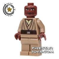 Product shot LEGO Star Wars Mini Figure - Clone Wars Mace Windu